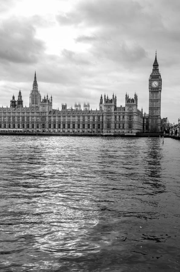 Westminster House of Parliament e Big Ben, Londra fotografia stock