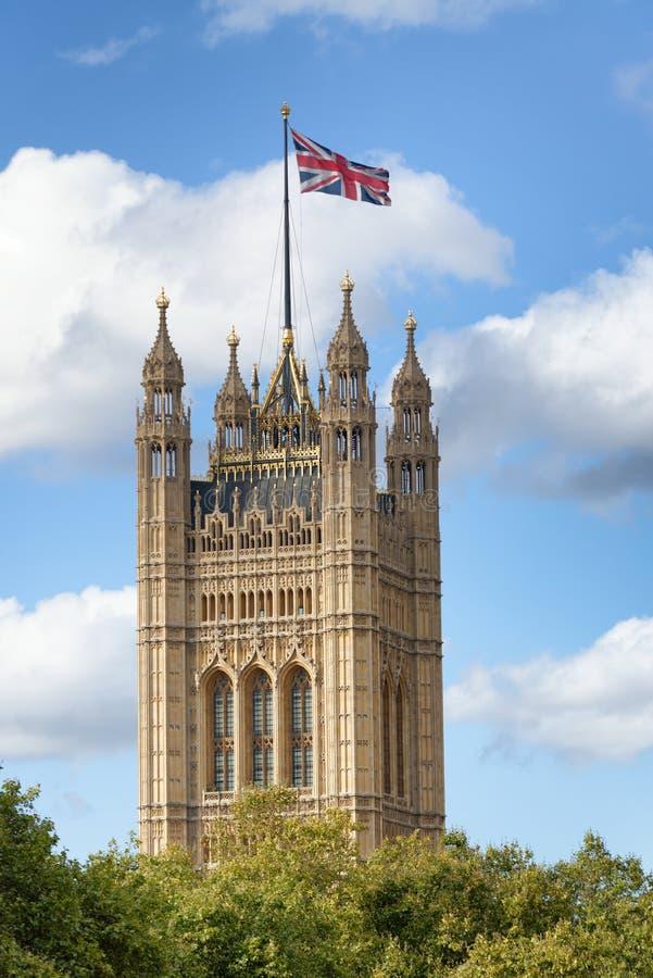Westminster Palace Tower, London - UK royalty free stock image