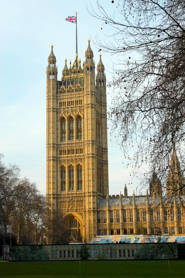 Westminster Palace Tower royalty free stock photo