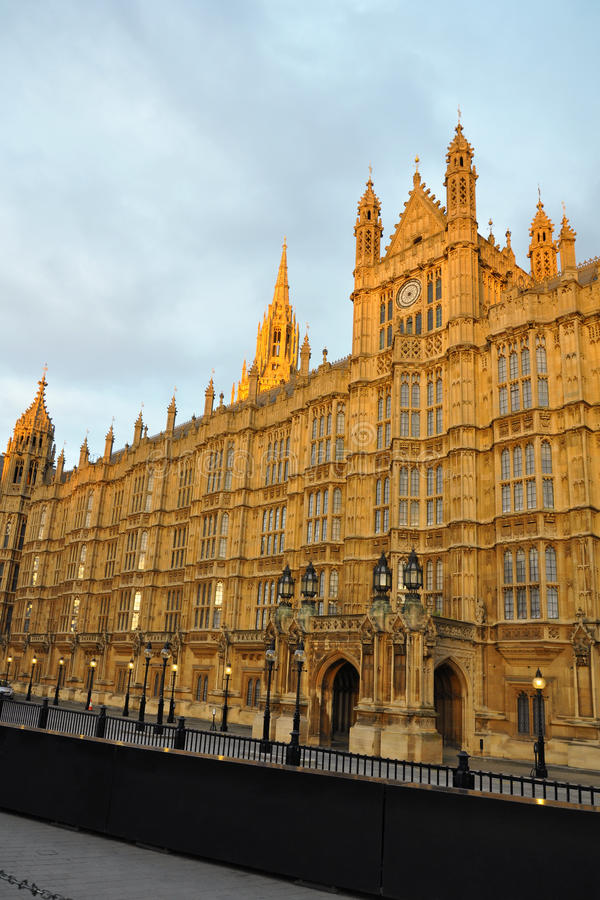 Download Westminster: Perspective Of Parliament, London Stock Image - Image: 23649149