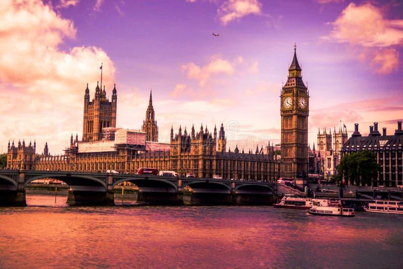 Westminster slott arkivfoto