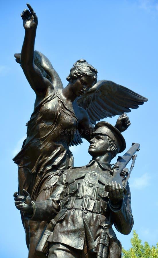 Westmountoorlogen, gedenktekens stock fotografie