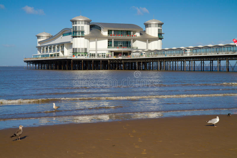 Download Weston-super-Mare Grand Pier Royalty Free Stock Images - Image: 26510279