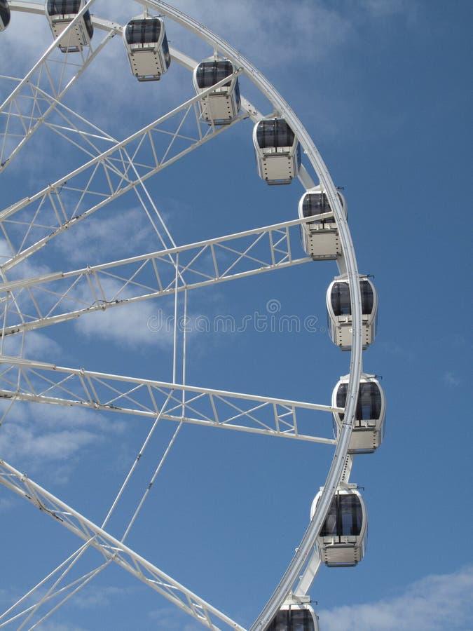 Weston Super Mare - Tourist Wheel stock photo