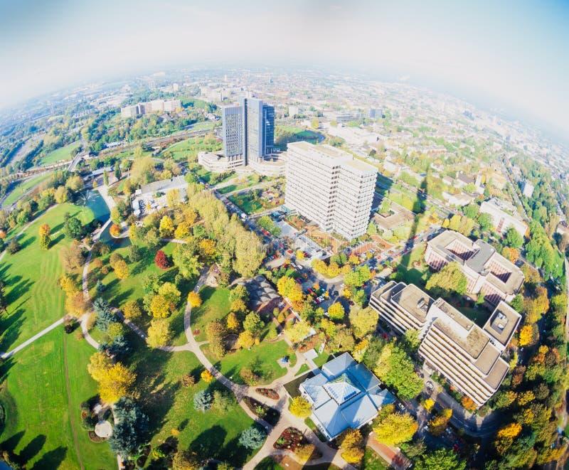 Westphalia parka Florian wierza Dortmund Niemcy fotografia royalty free