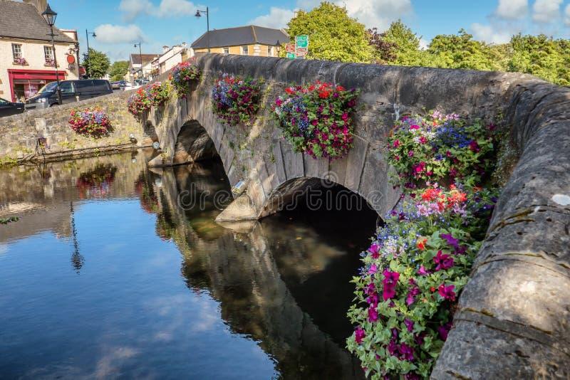 Westport桥梁在县马约角,爱尔兰 库存图片
