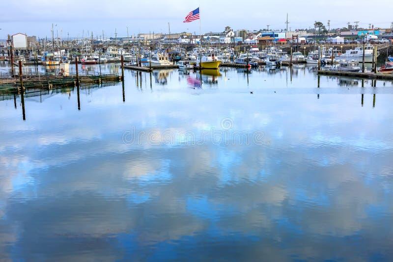 Westport灰色港口华盛顿州 免版税库存照片
