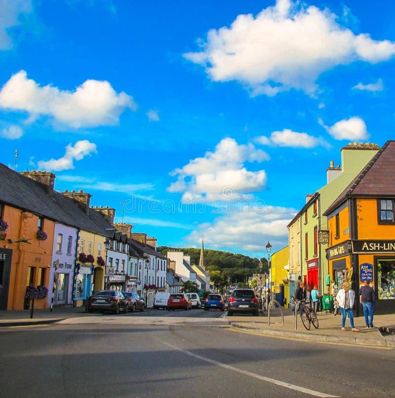 Westport colorido, condado Mayo, Irlanda fotografía de archivo libre de regalías