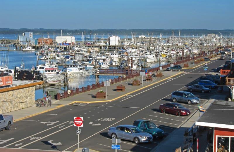 WESTPORT, WA - MAY 5 – Town of Westport royalty free stock photo