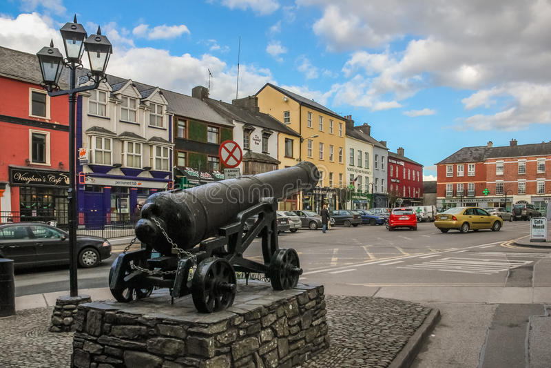 Westquadrat Macroom irland lizenzfreie stockfotografie