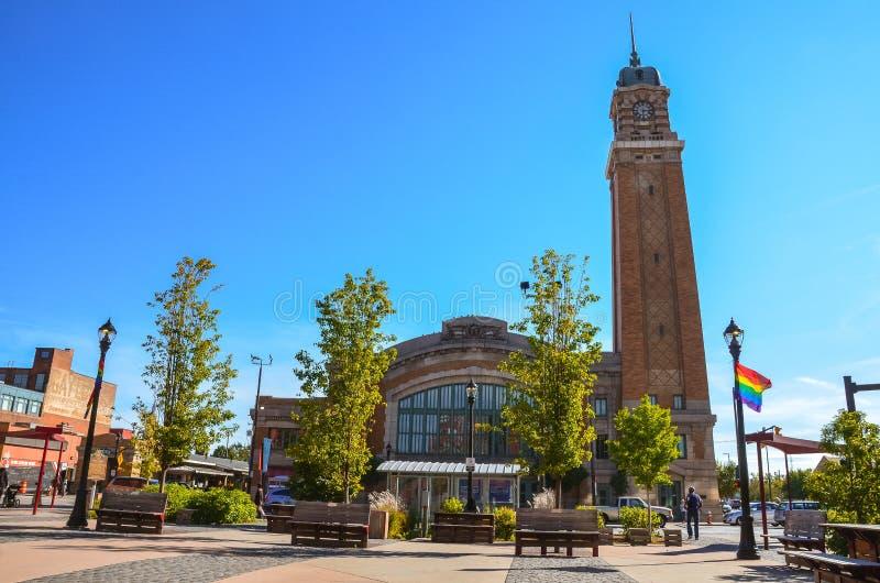 Westseiten-Markt - Cleveland, Ohio lizenzfreie stockfotos