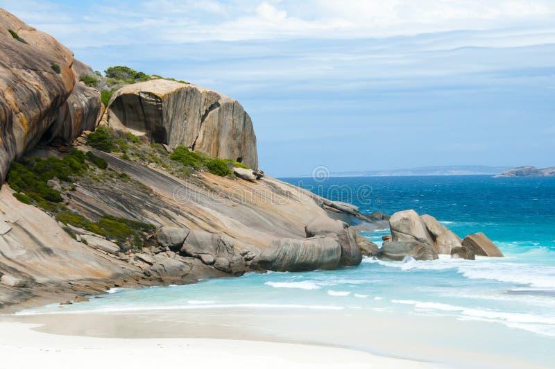 Weststrand - Esperance - Australien stockbilder