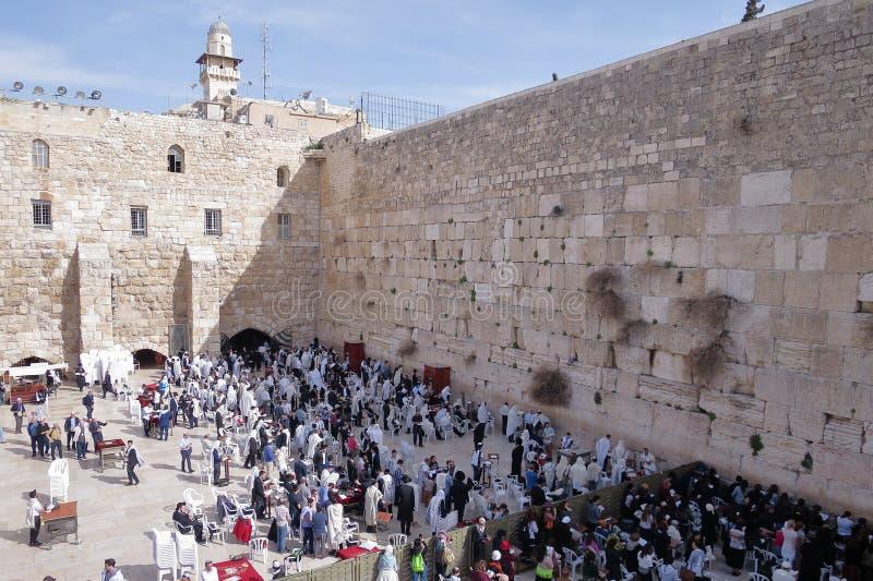 Westwand - Jerusalem - Israel stockbilder