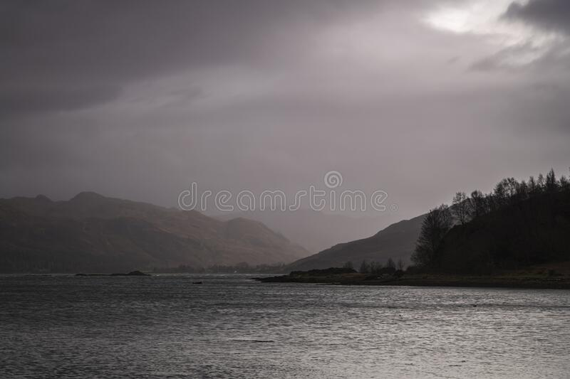 Wet Attadale stock images