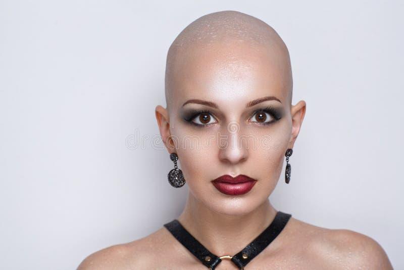 Bald women fetish