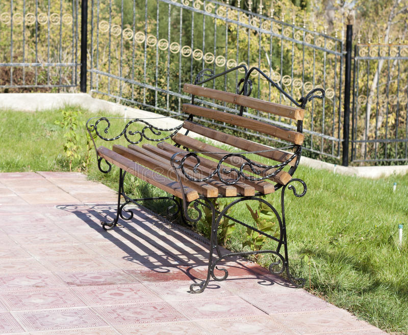 Download Wet bench stock photo. Image of rain, path, bench, lane - 21726326