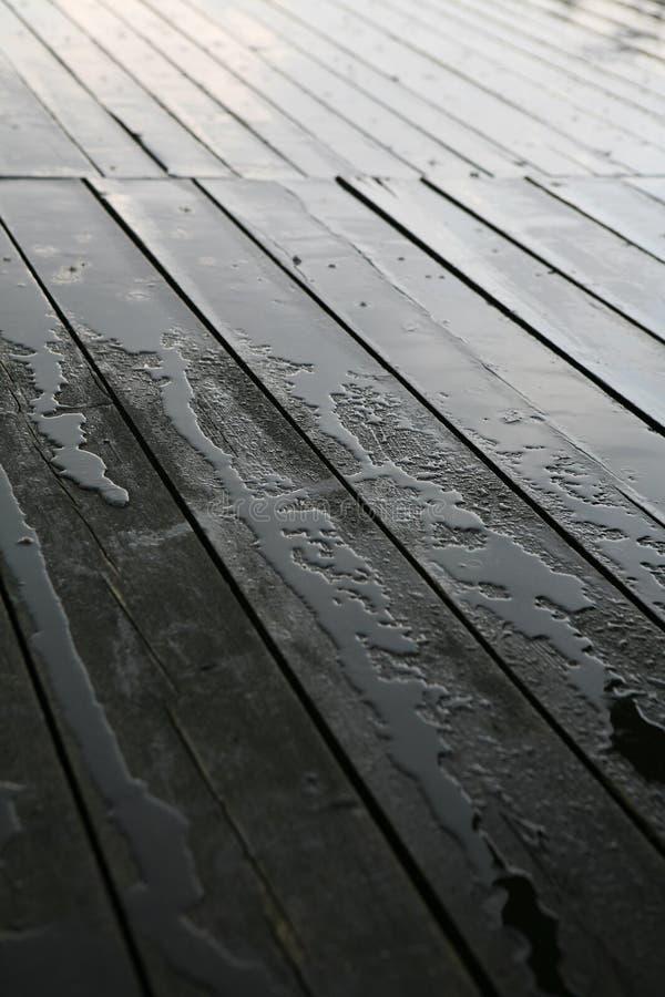 Download Wet deck stock image. Image of floor, detail, porch, water - 2683619