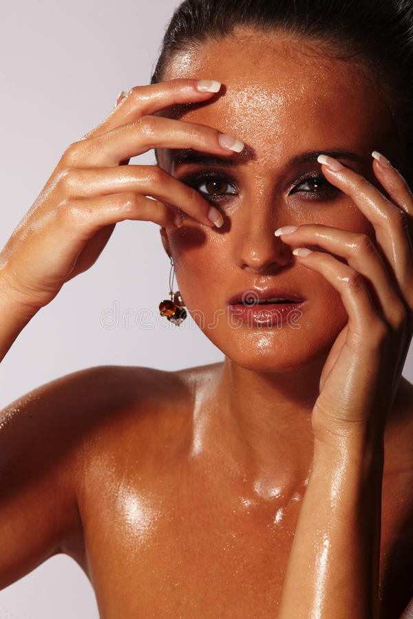 Download Wet Face Royalty Free Stock Photo - Image: 15089925