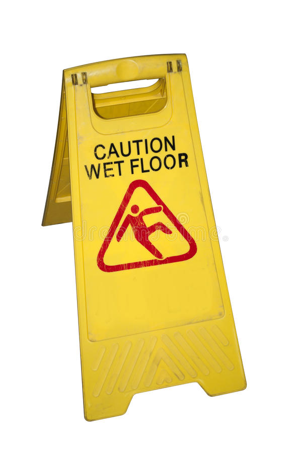 Download Wet floor sign stock photo. Image of china, human, falling - 19172136