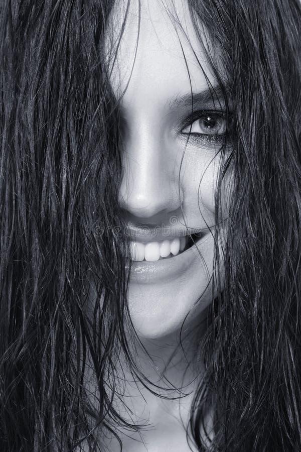 Wet Hair Royalty Free Stock Photo