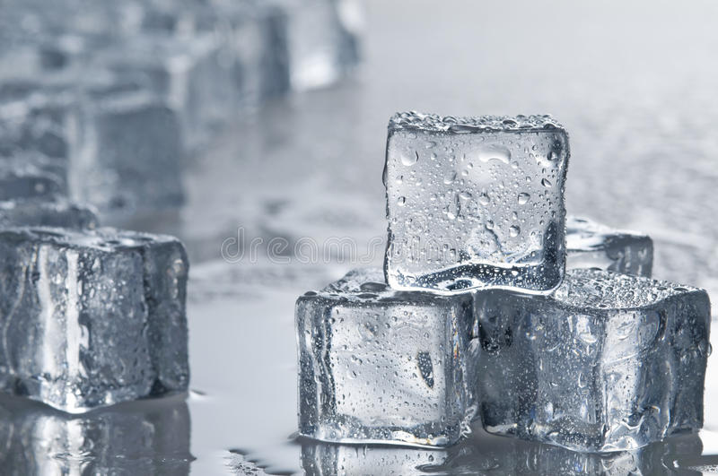 Download Wet ice cubes objects stock image. Image of studio, liquid - 12868933