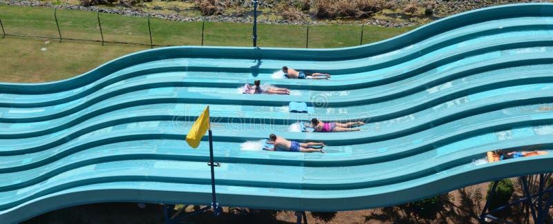 Wet'n'Wild Gold Coast Queensland Australien royaltyfri bild