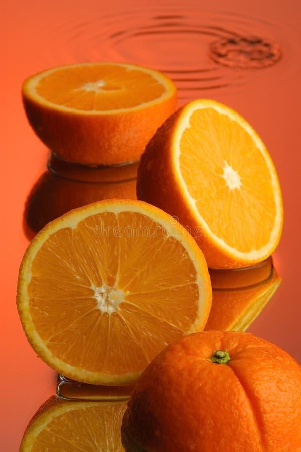 Free Wet Orange 1 Royalty Free Stock Image - 1910616