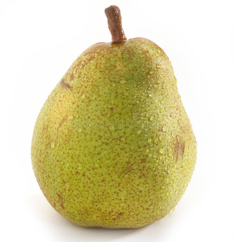 Download Wet pear stock photo. Image of food, white, core, pomiferous - 8614222