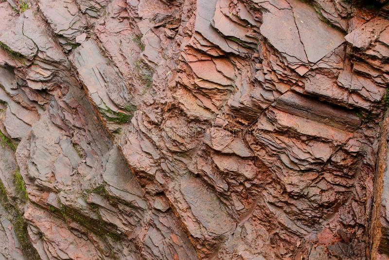 Wet rock texture stock photos