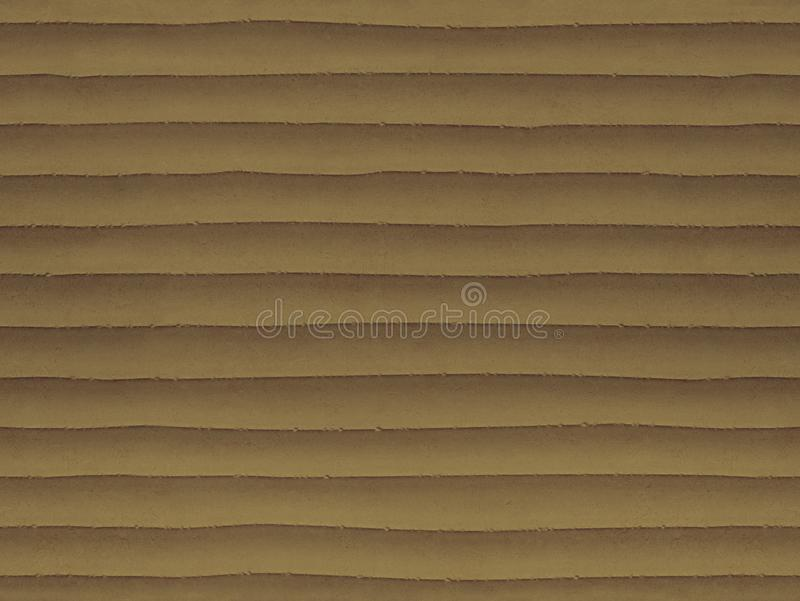 Wet sand color seamless stone texture background pattern. Stone seamless texture surface with horizontal lines layers Stone royalty free stock photos