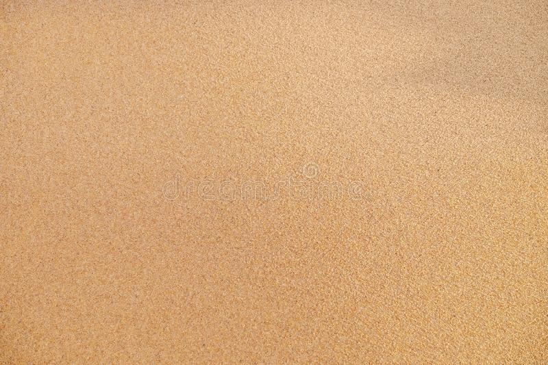 Wet sand on sea coast royalty free stock photography