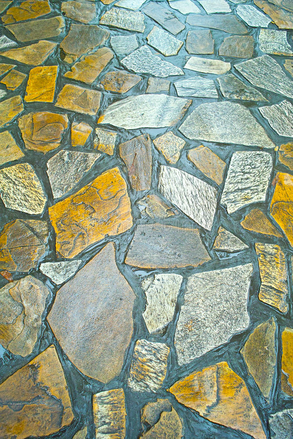 Download Wet stone path stock image. Image of color, peaceful - 14597265