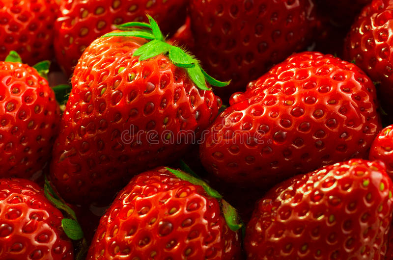 Download Wet Strawberries stock photo. Image of strawberry, health - 25122488