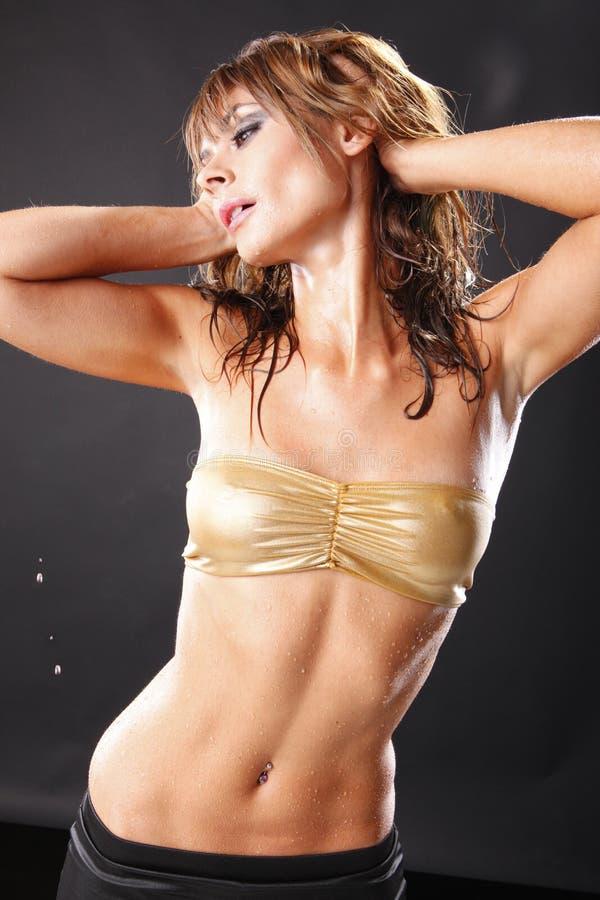 Download Wet suet stock photo. Image of glamour, femininity, dancer - 15029654