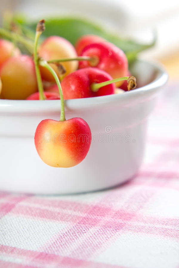 Download Wet sweet cherry stock image. Image of delicious, health - 25338951