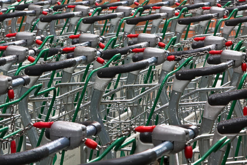 Download Wet Trolleys Royalty Free Stock Images - Image: 22981149