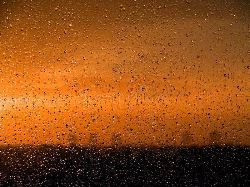 Wet window [3] royalty free stock photo