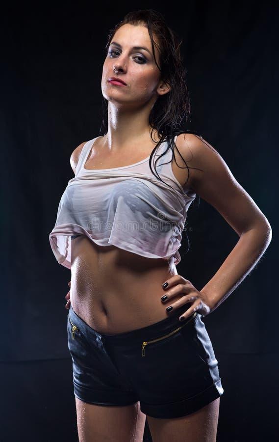 Wife in wet t shirt