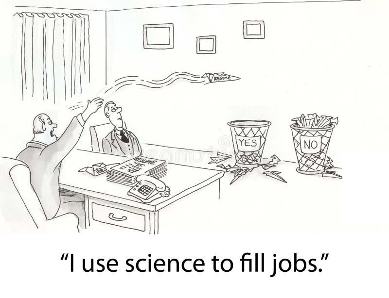 Wetenschap stock illustratie