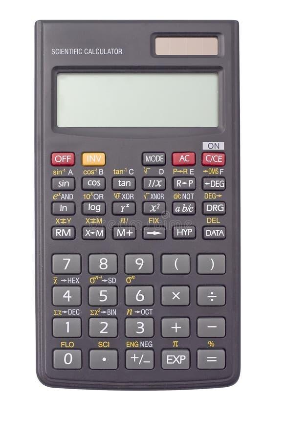 Wetenschappelijke calculator royalty-vrije stock foto's
