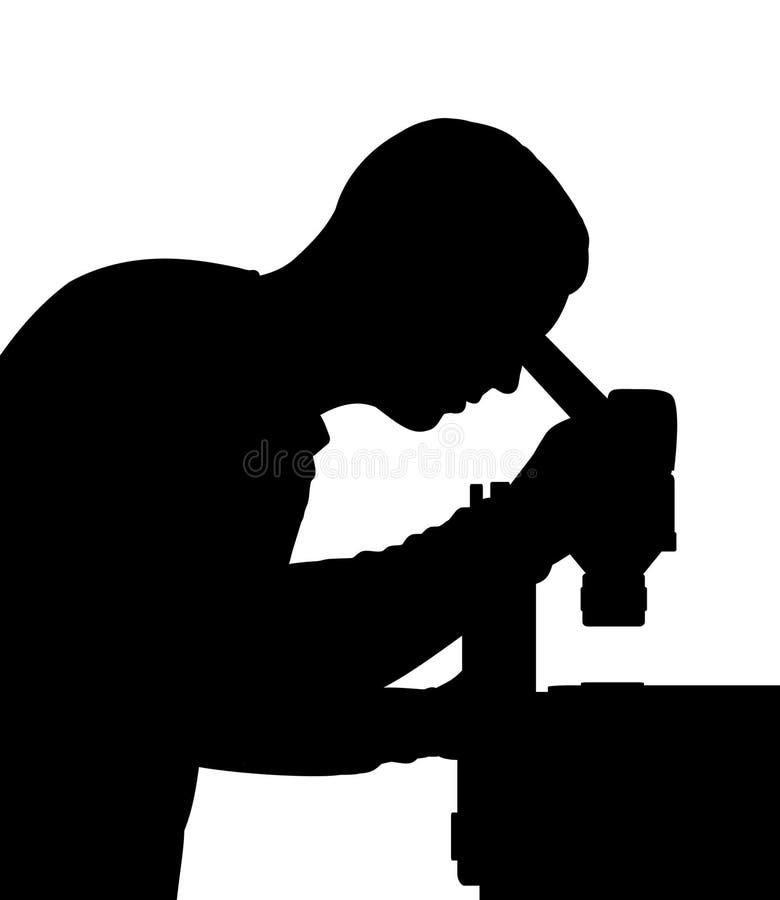 Wetenschapper stock illustratie