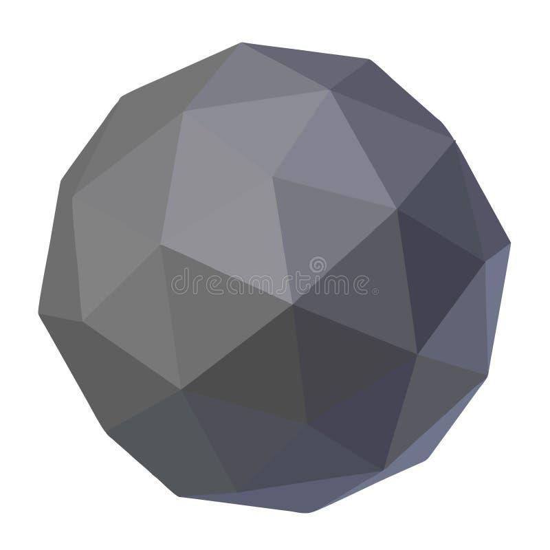 Wetenschapsbal stock illustratie