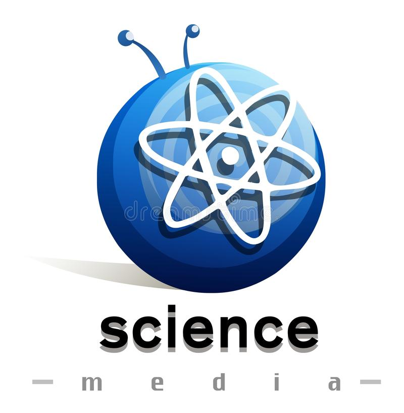 Wetenschapsmedia royalty-vrije stock foto