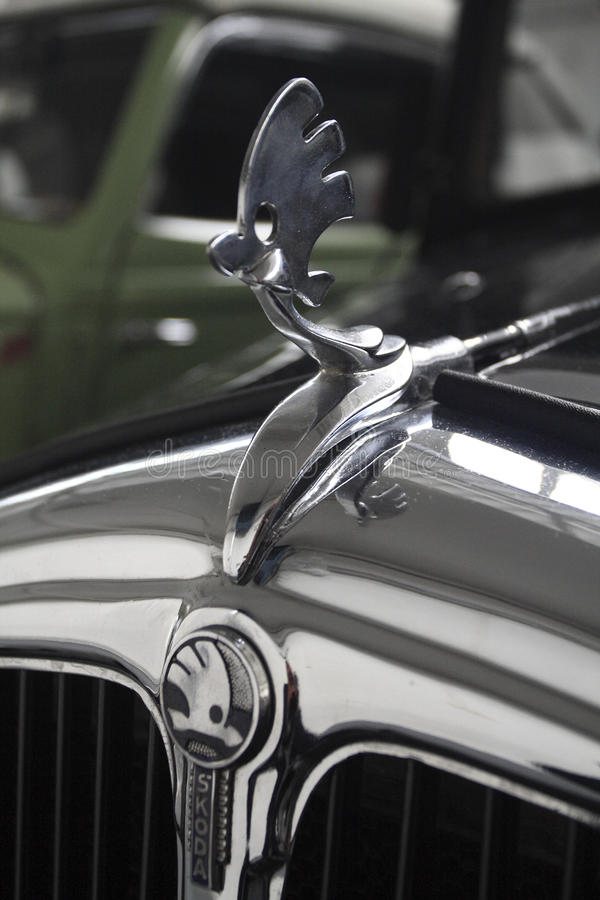 Weterana samochód Skoda zdjęcie stock