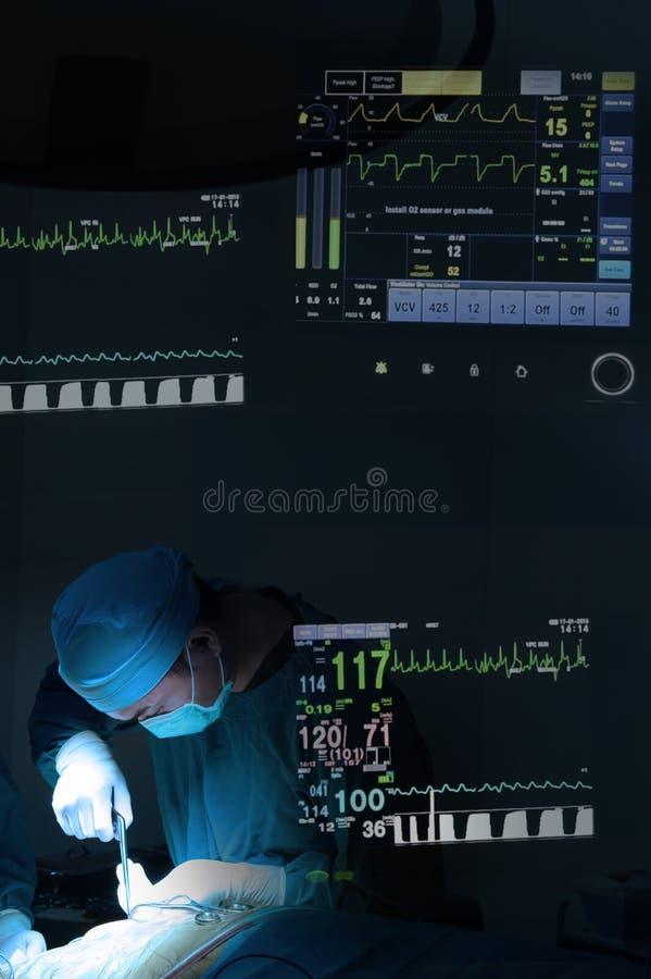 Weterynarz operaci funkcjonujący pokój zdjęcia royalty free