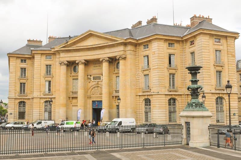 Wetsuniversiteit in Parijs royalty-vrije stock foto