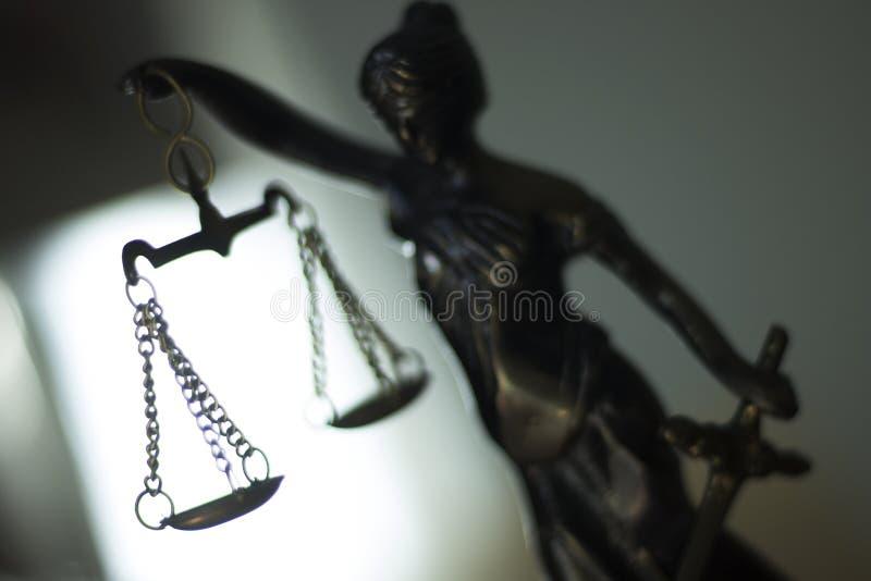Wettelijk advocatenkantoorstandbeeld royalty-vrije stock fotografie