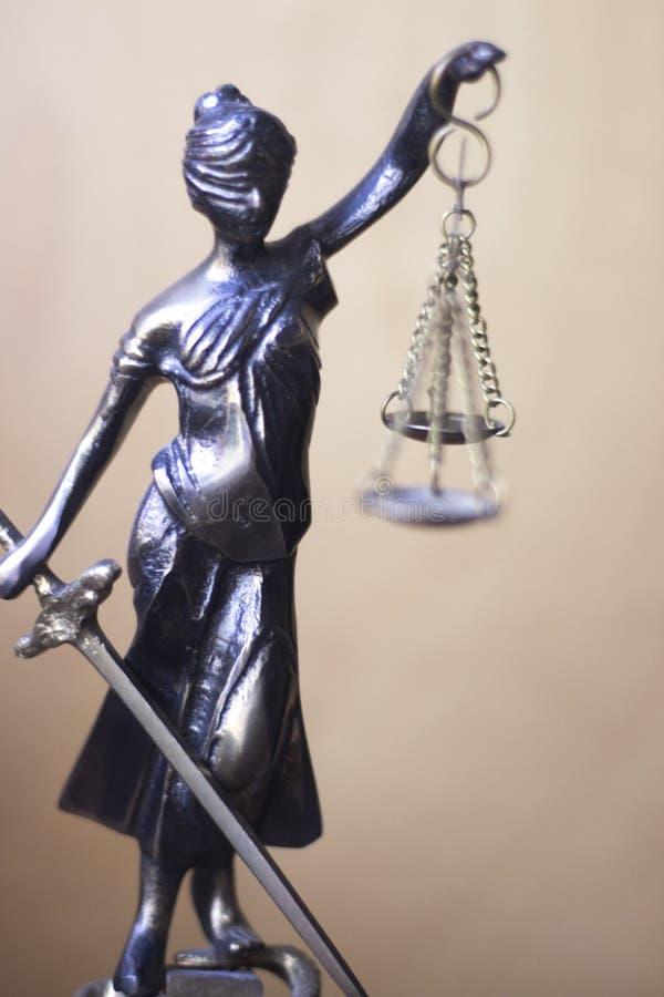 Wettelijk advocatenkantoorstandbeeld royalty-vrije stock foto