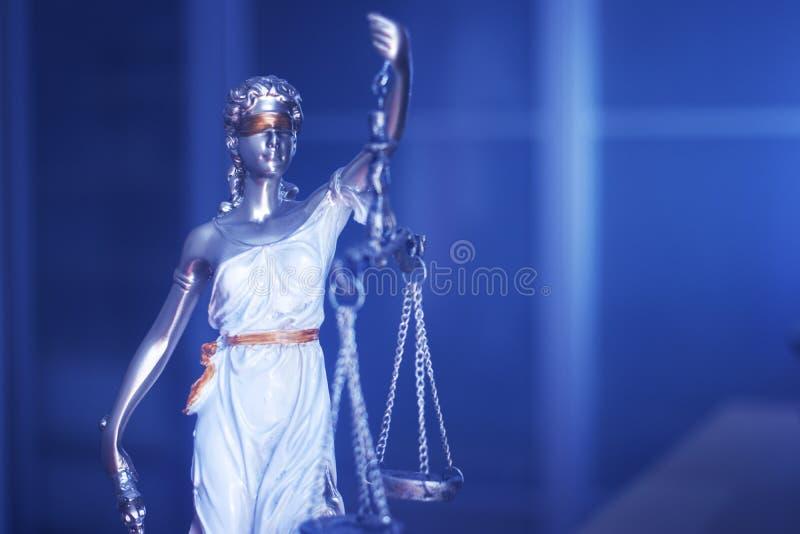 Wettelijk de rechtvaardigheidsstandbeeld van het wetsbureau stock afbeeldingen
