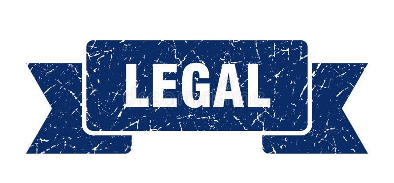 wettelijk lint stock illustratie